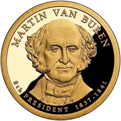 2008-S Martin Van Buren Presidential Dollar Proof