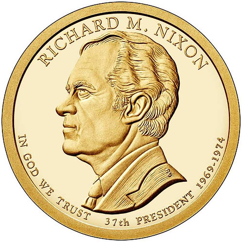 2016-S Richard Nixon Presidential Dollar Proof