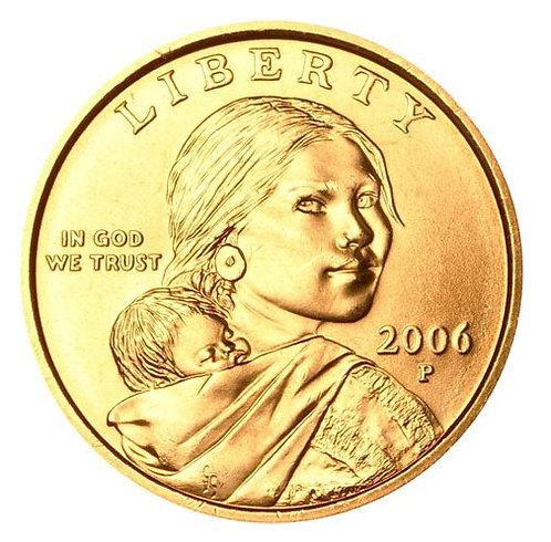2006-P Sacagawea Dollar in BU