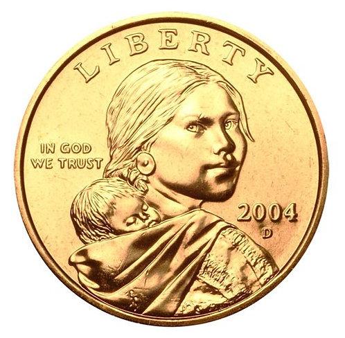 2004-D Sacagawea Dollar in BU