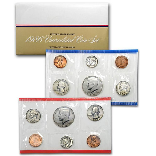 1986 U.S. Mint Set