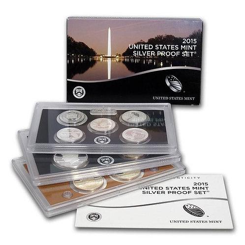 2015 U.S. Silver Proof Set