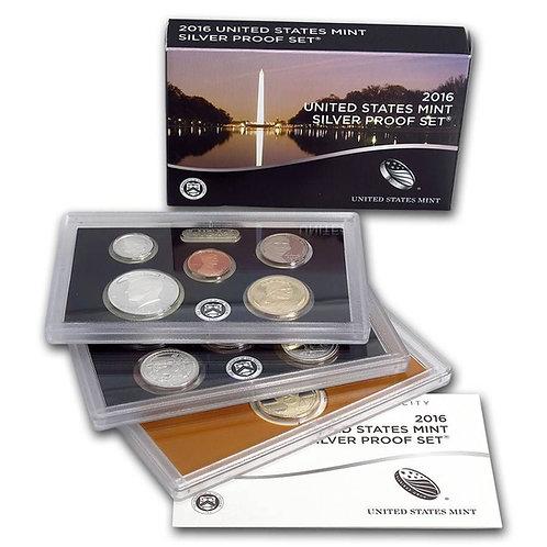 2016 U.S. Silver Proof Set