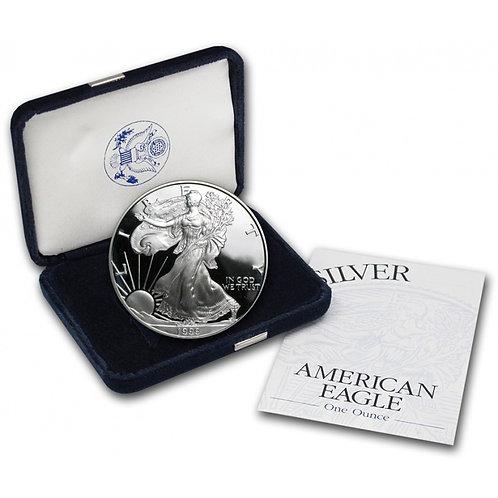 1999-P Proof American Silver Eagle
