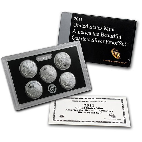 2011 ATB Silver Proof Set
