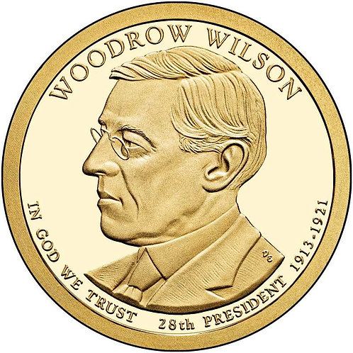 2013-S Woodrow Wilson Presidential Dollar Proof
