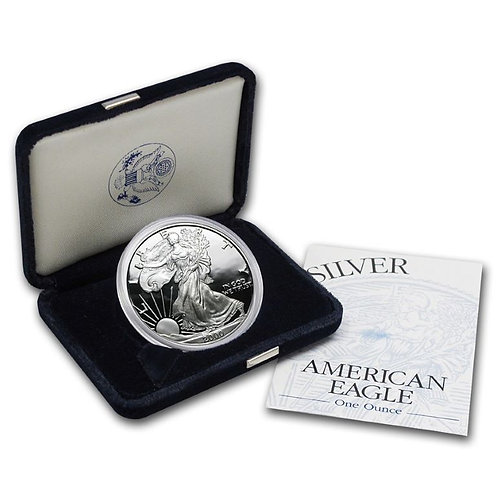 2000-P Proof American Silver Eagle