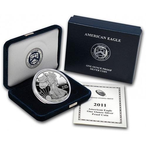 2011-W Proof American Silver Eagle