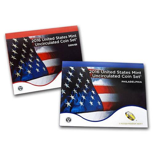 2016 U.S. Mint Set