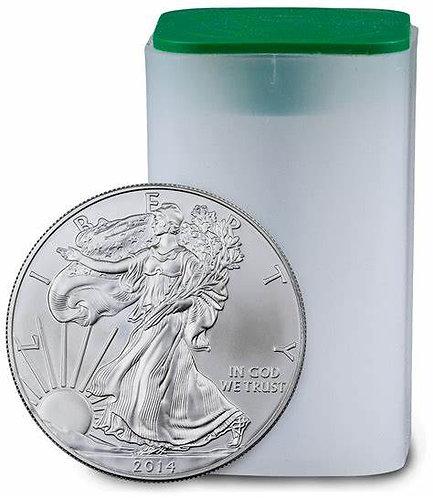 2014 1-oz American Silver Eagle in BU