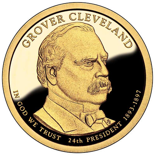 2012-S Grover Cleveland (2nd term) Presidential Dollar Proof