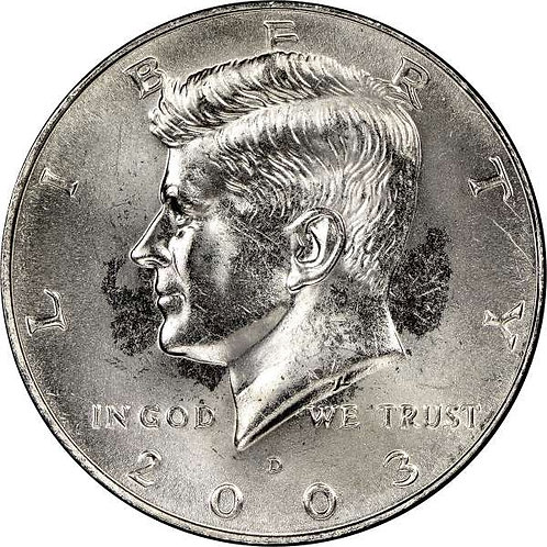 2003-D Kennedy Half Dollar in BU
