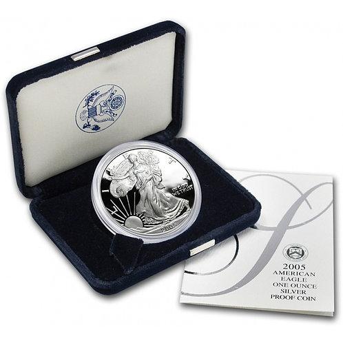 2005-W Proof American Silver Eagle