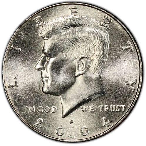 2004-P  Kennedy Half Dollar in BU