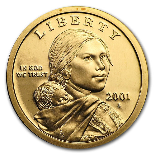 2001-S Sacagawea Dollar Proof