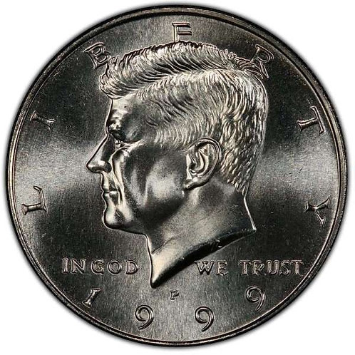 1999-P Kennedy Half Dollar in BU