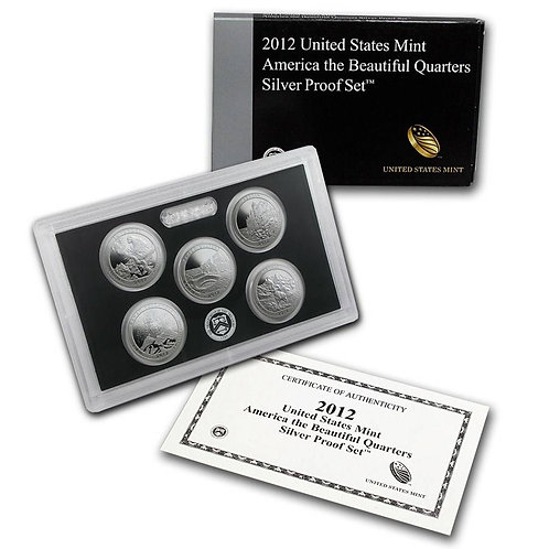 2012 ATB Silver Proof Set