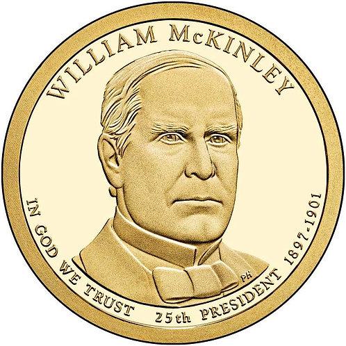 2013-S William McKinley Presidential Dollar Proof