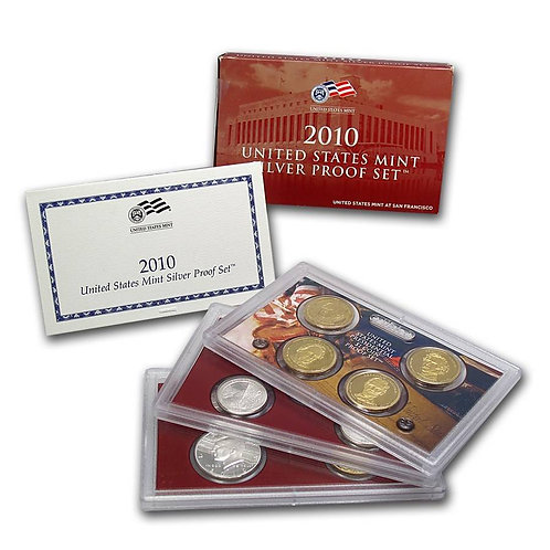 2010 U.S. Silver Proof Set