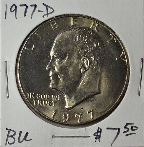 1977-D Eisenhower Dollar in BU