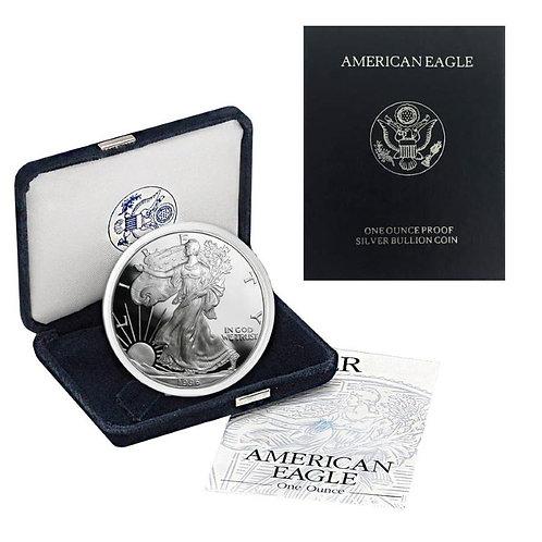 1996-P Proof American Silver Eagle