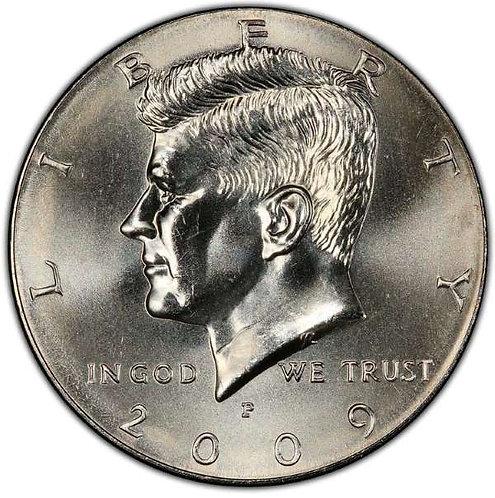 2009-P Kennedy Half Dollar in BU