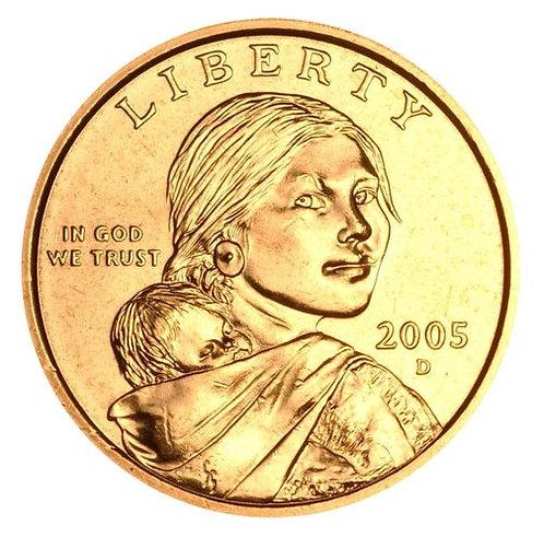 2005-D Sacagawea Dollar in BU