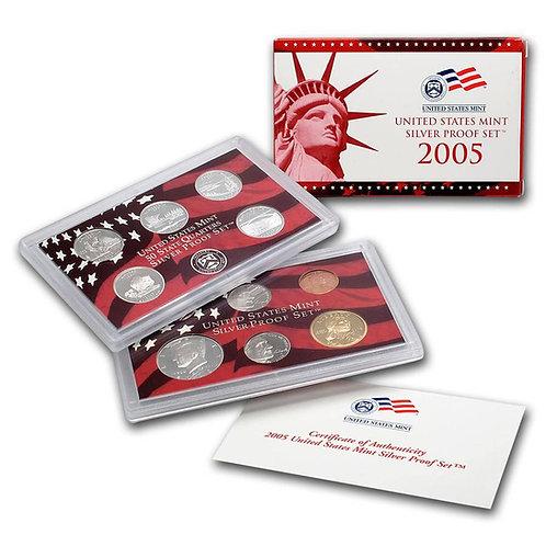 2005 U.S. Silver Proof Set