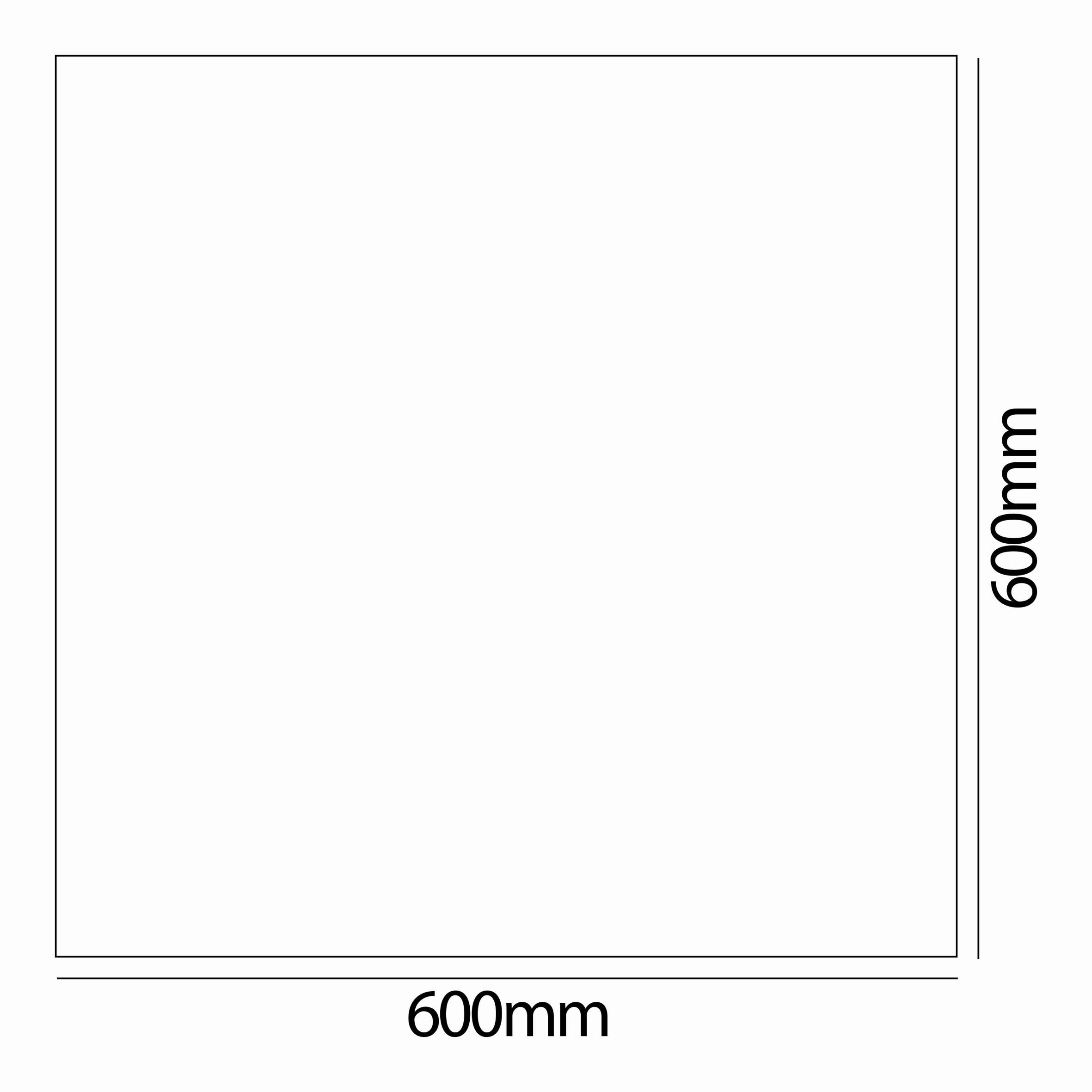 60x60 Alüminyum Sıva Üstü Çerçeve T. Ç..