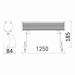 48w 1.2mt 48 Ledli RGB Wall Washer