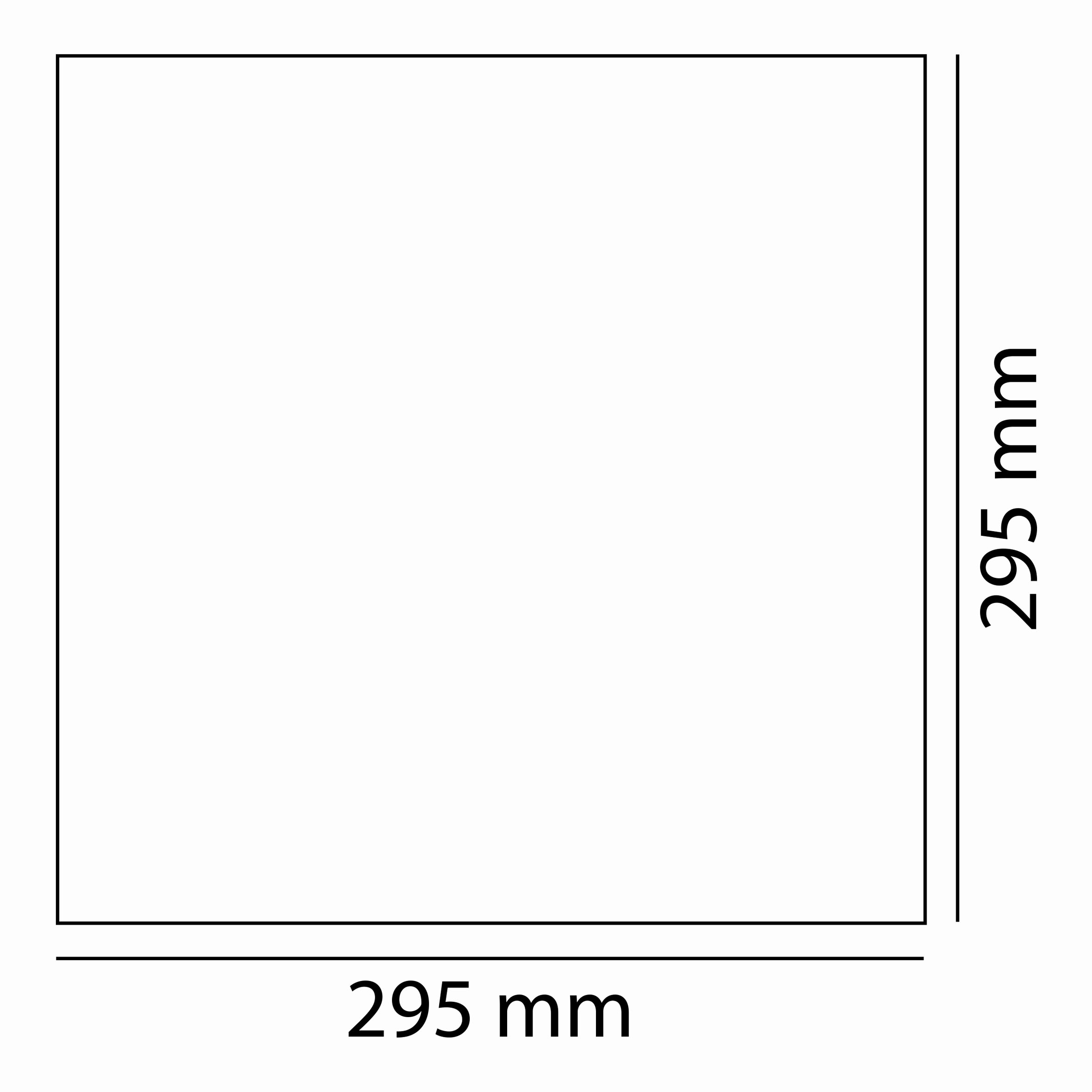 20w 30x30 Ledli Panel Teknik Çizim