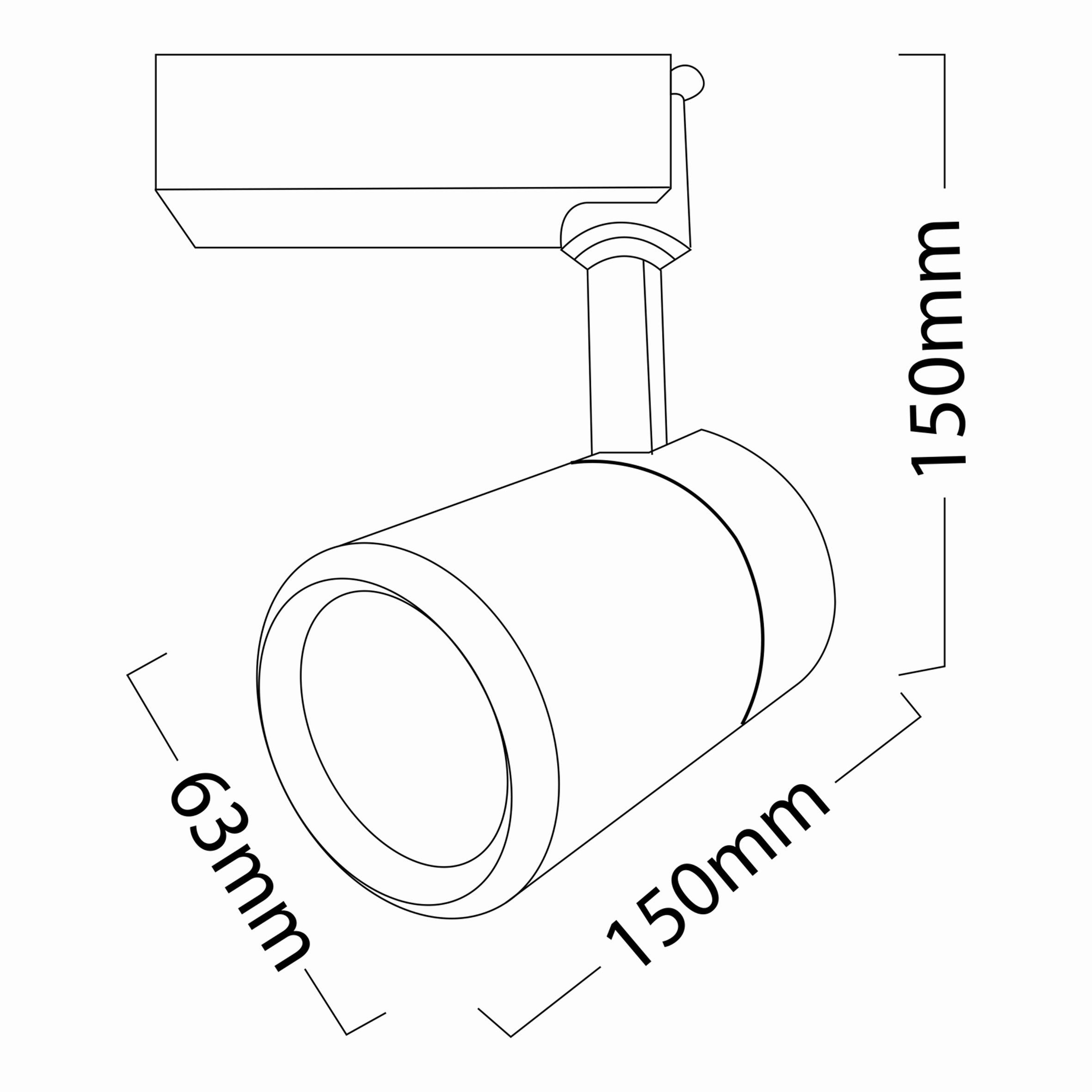 30w Cob Shopline-BC Ray Spot Monofaz