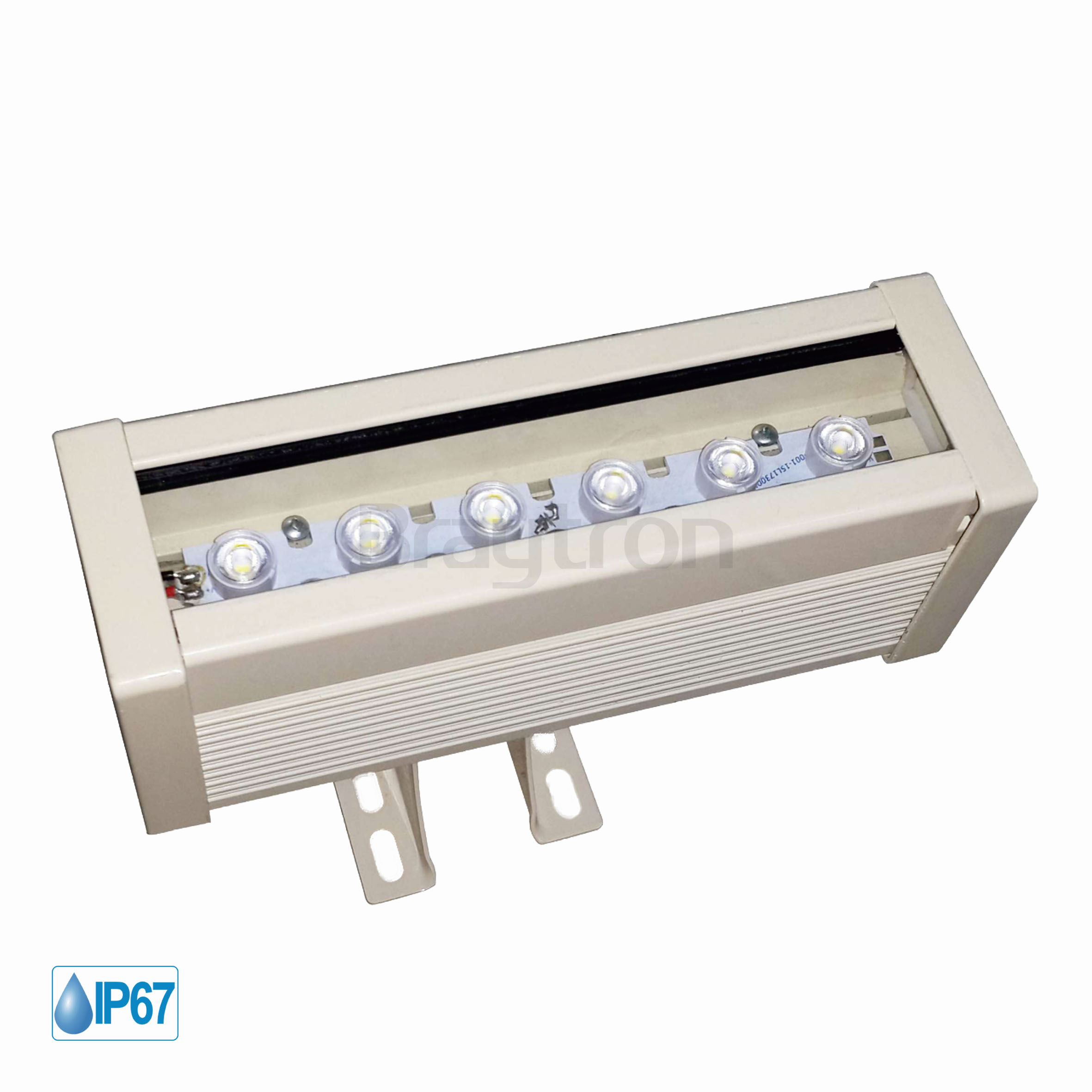6w 0.18mt 6 Ledli RGB Wall Washer