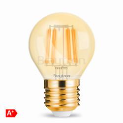 4w E27 Mini Glob Amber Ampul