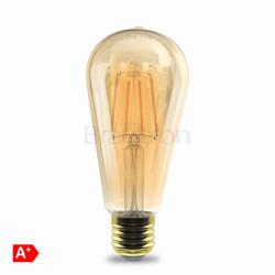 4w E27 ST64 Amber Ampul