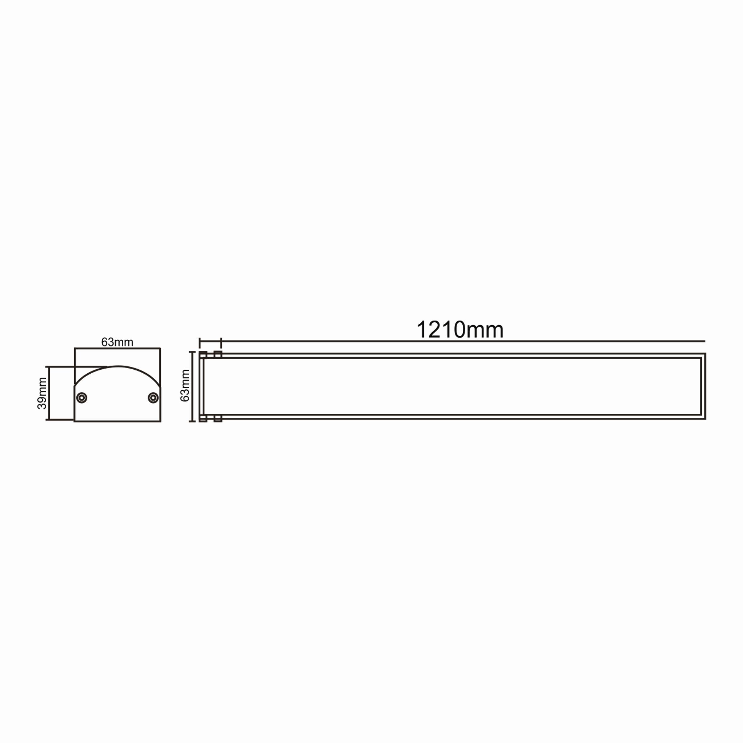 40w 1.2mt Proline-P Bant Armatür T. Ç.