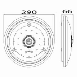 15w Ledli Sensörlü Pilli Armatür T. Ç.