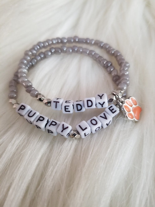 Customized Inspirational Bracelets (Set of 2)