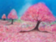 Blossom trees_ruthriordanart#colourful #