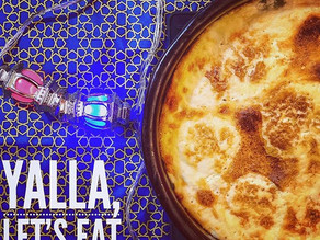 Yalla, Let's Eat Roz Mo3mar (Baked Rice)