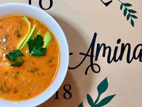 Yalla, Let's Eat Shrimp Brazilian Soup!