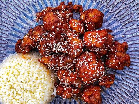 Yalla, Let's Eat Seasame Chicken!