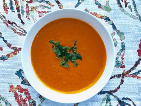 Yalla, Let's Eat Creamy Tomato Basil Soup!