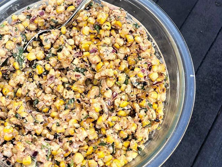 Yalla, Let's Eat Mexican Street Corn Salad!