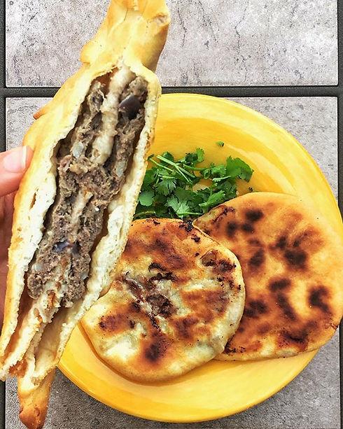 Yalla let's eat howawshi. (amazing with