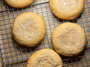 Yalla, Let's Eat Brown Butter Cookies!!