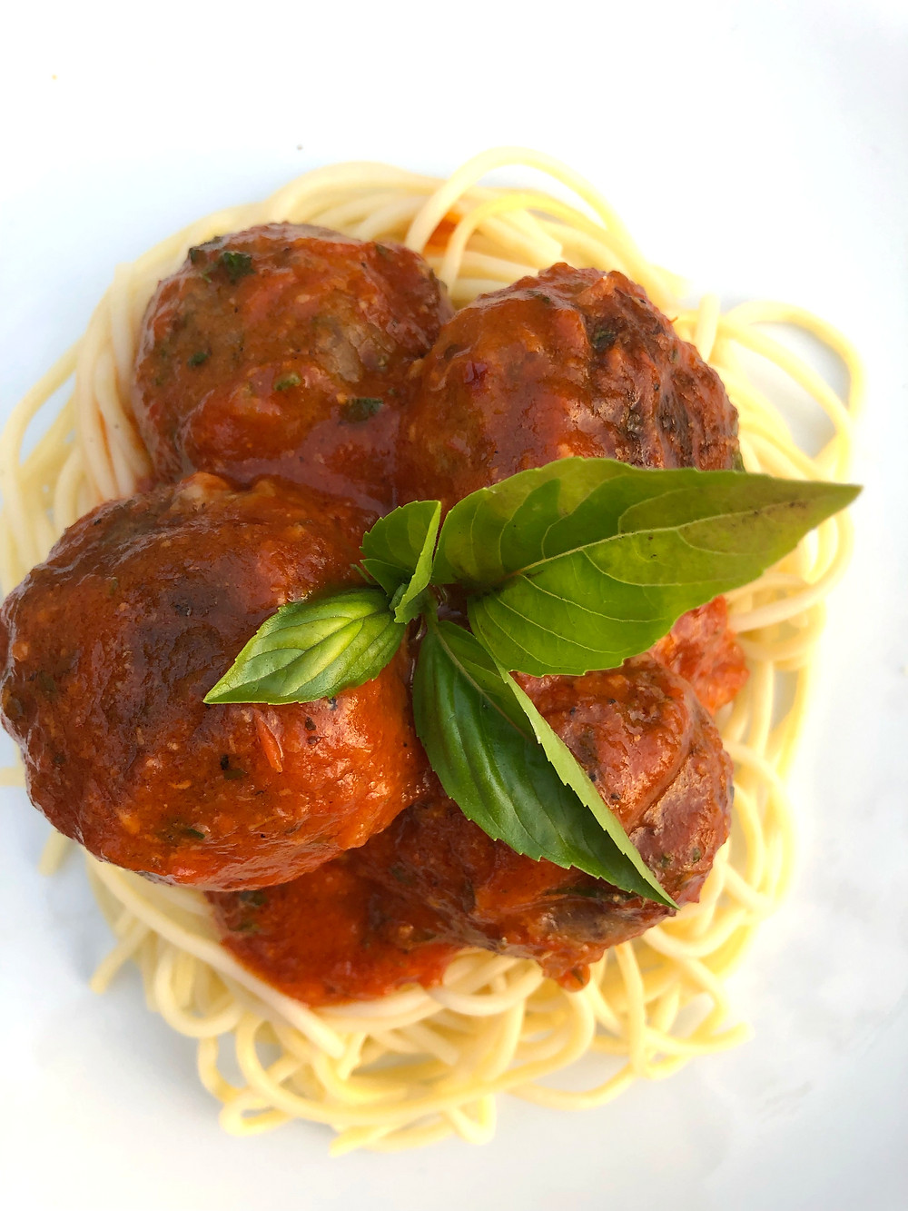 Yalla Let S Eat Stuffed Italian Meatballs