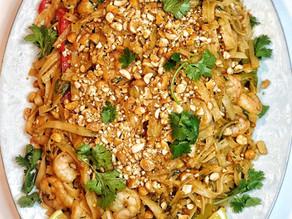 Yalla, let's eat Shrimp Pad Thai!