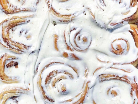 Yalla, let's eat Classic Cinnabons!