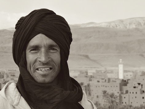 Ahmed Arbaoui in Midelt, Morocco
